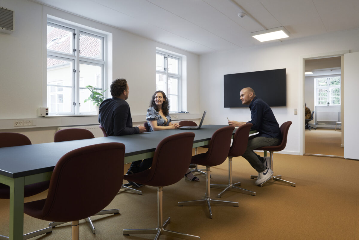 Mødelokaler på Vækstfabrikken